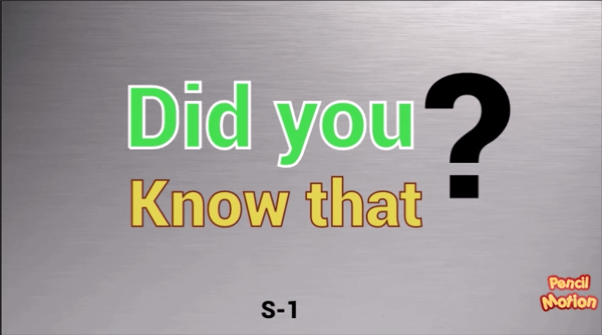 Did you know that 1